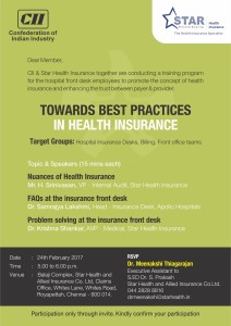 CII Star Health Insurance Mailer
